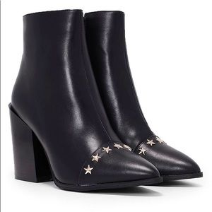Nasty Gal Star Vegan Leather Boot